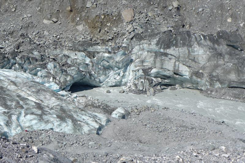 Image #Terminal ice cave at Fox Glacier, J.Thomson / GNS Science
