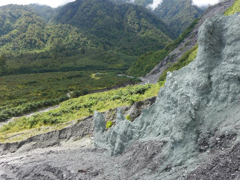 Image #Alpine Fault at Gaunt Creek, J.Thomson @ GNS Science